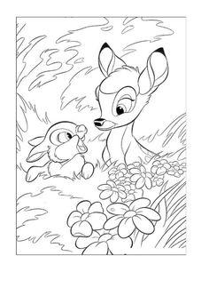 Målarbilder | Färgläggningsbilder för barn Disney 222