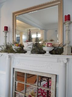 Wonderful Free of Charge window Fireplace Screen Concepts ~Chateau Chic. Christmas Fireplace Mantels, Metal Fireplace, Fireplace Cover, Freestanding Fireplace, Fireplace Redo, Bedroom Fireplace, Fireplace Screens, Fireplace Ideas, Christmas Photos