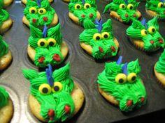 Dragon Cupcakes