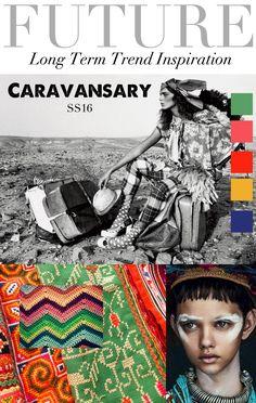 TREND COUNCIL S/S 2016- CARAVANSARY