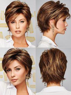 Short Grey Hair, Short Wavy, Short Pixie, Short Hair Cuts, Haircut For Thick Hair, Wavy Hair, Short Layered Haircuts, Shot Hair Styles, Hairstyles Haircuts