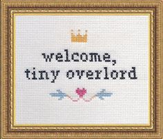 Another awesome kit from Subversive Cross Stitch.