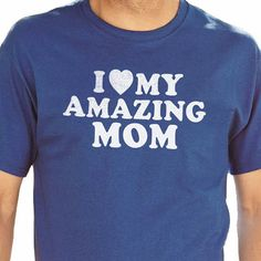 "Mothers day, I Love My Amazing Mom T-shirt Mens T Shirt Womens Shirt, Valentines Day Mother Gift, Mom Birthday Mom Shirt    All our t-shirts are screen printed by hand and made to order on 100% Cotton Tees.    All shirts are screen printed in a smoke free environment.    Only the best screen printing inks are used. I double hit each design to ensure that the design will last as long as the shirt.    MENS T-SHIRTS    More than just a ""day off"" tee, it strikes a colorful chord by itself or…"