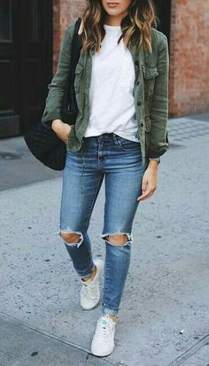 casual style obsession clothes Fall fashion outfits, Everyday casual outfits for ladies - Casual Outfit Everyday Casual Outfits, Simple Fall Outfits, Fall Fashion Outfits, Mode Outfits, Fall Winter Outfits, Look Fashion, Spring Outfits, Trendy Outfits, Autumn Fashion