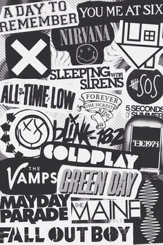 Bands- iphone wallpaper