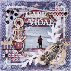 Cape Vidal - Maja Design - Scrapbook.com
