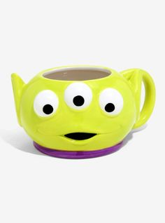 Disney Pixar Toy Story Alien Figural Mug, Disney Coffee Mugs, Disney Mugs, Disney Pixar, Toy Story Movie, Toy Story Alien, Stranger Things Gifts, Ceramic Monsters, Discovery Toys, Disney Traditions