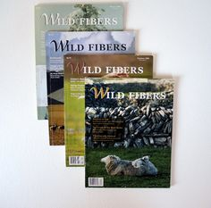 Wild Fiber Magazine 4 Issues 2006 Fiber Animal by injoytreasures, $25.00