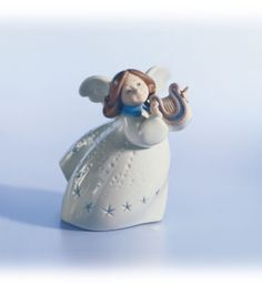 Lladro Little Angel With Lyre - Alpha Chi Omega