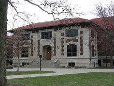 Felix Haas Hall - Memorial Gymnasium (photo via: http://mrsmith18.tumblr.com/)