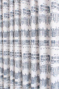 Tiny Toile de jouy Dollhouse Curtains Black /& Cream w// Cream Satiny Semi Sheers