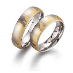 Gerstner wedding rings width: 6 mm Color: white yellow Number, cut and carats of diamonds: 0 Precious alloy type (at your choice): Gold 585‰ Gold 750‰