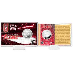 Calgary Flames Highland Mint History Coin Card - $15.99