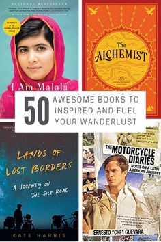 50 of The Best Travel Books to Inspire and Fuel Your Wanderlust – CircaWanderlust - New Site Best Travel Books, Literary Travel, Travel Tips, Books About Travel, Travel Ideas, Travel Literature, Asia Travel, Italy Travel, Travel Destinations