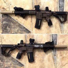 Daniel Defense MK18 with SureFire WARCOMP556Find our speedloader now! http://www.amazon.com/shops/raeind