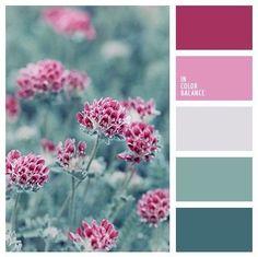 Winter color inspiration | color palettes