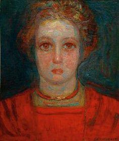 Piet Mondrian - Portrait Of A Girl