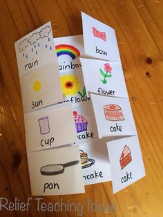 Compound words RELIEF TEACHING