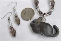 Custom Grey Chinchilla Necklace Set | Flickr - Photo Sharing!