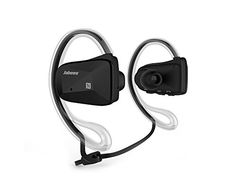 """Kartice Jabbes Bsports Bluetooth 4.0 Wireless Sports Music Stereo Waterproof Swimming Bike Headsets Headphone Earphone With Dual Microphone for iPhone, Samsung, Motorola, LG, Nokia, iPad, iPod, HTC, PC, PSP or Any Other Bluetooth Enabled Devices--Black. Waterproof Headphones:NOT FOR SWIMMING.BUT way beyond water """"Resistant"""".Nano-cosating waterproof design . Not for immersion in water. Don't immerse but it will survive the shower, beach, hot tub, boat etc .If dropped in Pool/Standing water..."""