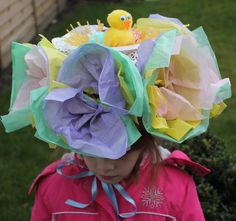 Easter Bonnet tutorial