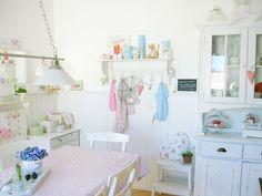 Corazón hecho a mano de Reino Unido: Un Pastel Cottage Home