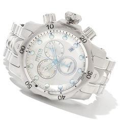 Invicta 11783 Venom Reserve All Silver Tone Stainless Steel Men's Watch: $369.99
