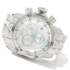 Invicta 11783 Venom Reserve All Silver Tone Stainless Steel Men's Watch: $369.99