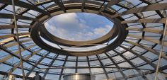 Abluft Öffnung in der Reichstagskuppel Berlin.  http://besuch-berlin.de