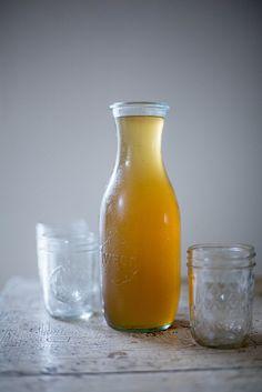 Local Milk | honeysuckle cordial: honeysuckle biscuits with sea salt peach butter + honeysuckle mint vinaigrette