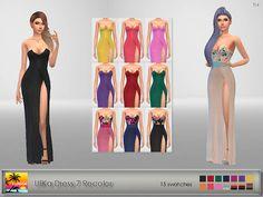 UliKa Dress 7 Recolor at Elfdor Sims • Sims 4 Updates