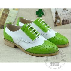 (74.65$)  Watch here - http://aiqmg.worlditems.win/all/product.php?id=32753617379 - Plain Full Grain Leather Laser Cut Designer Brand Woman Leather Shoes Uniform Color Match Dress Shoes Green Longwing Brogue