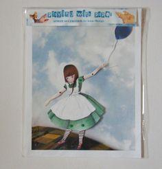 Balloon RiderAssembled by JenniPhillipsArt on Etsy, $15.00