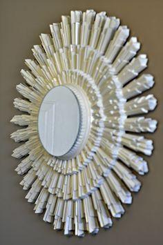 How to make a starburst mirror