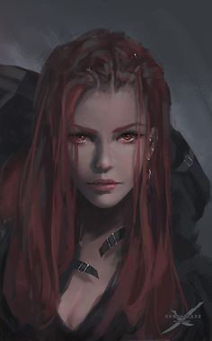 Portrait for Lenia in GhostBlade. Original file: www.patreon.com/posts/7643362