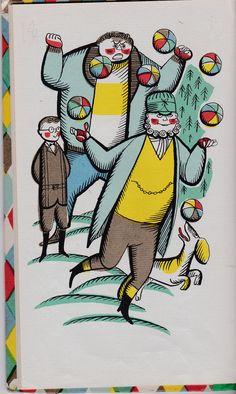 Papa Pompino by Martha Bennett King, illustrated by Jan B. Balet ©1959.