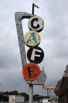 bill smith's cafe neon sign by Exquisitely Bored in Nacogdoches, via Flickr