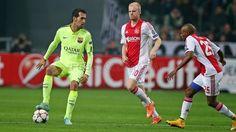 APOELGROUP.COM: Ajax 0-2 Barcelona, Ο Messi στέλλει την Barça στου...