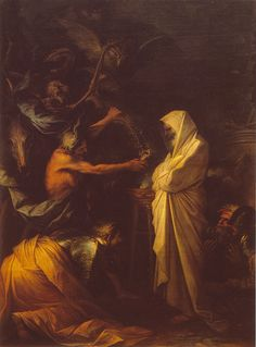 apparition of the spirit of samuel to saul 1668