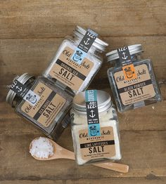 Salt Trader Gift Set - Lime, Black Powder, Sea Smoke & Original by Old Salt Merchants on Scoutmob Shoppe. In perfect nautical themed packaging.
