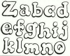 Tos Tipos Letras Bonitas Abecedario 604 X 480 43 Kb Jpeg Hand Lettering Alphabet, Graffiti Alphabet, Graffiti Lettering, Typography Fonts, Fancy Fonts Alphabet, Graffiti Drawing, Alphabet Templates, Alphabet Stencils, Alphabet Design