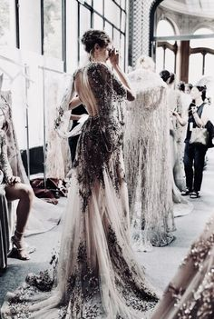 Zuhair Murad Bridal Wedding Brides Haute Couture 49 New Ideas Style Couture, Couture Fashion, Couture Details, Bridal Fashion, Look Fashion, Fashion Show, 90s Fashion, Fall Fashion, High Fashion