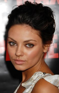 Mila Kunis...love her different colored eyes!