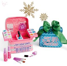 Let your inner BE-YOU-TY shine with perfectly giftable beauty sets and make-up kits (includes 56 pieces)!