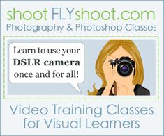 Great tutorial on how to use your DSLR camera. (Want the DSLR to go with the lessons!! haha)