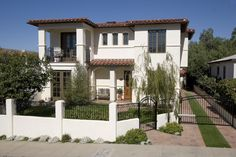 Outdoor Stucco Walls | ... Also Brick Paving Plus Entry Gate With Ribbon Driveway And Stucco Wall Second story windows above arches
