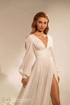 Wona Muse 2021 Spring Bridal Collection – The FashionBrides Dresses To Wear To A Wedding, Dream Wedding Dresses, Bridal Dresses, Wedding Gowns, Prom Dresses, Formal Dresses, Spring Dresses, Unique Wedding Dress, Wrap Wedding Dress