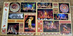 Disney World - Animal Kingdom Festival of the Lion King Scrapbook Page - 12x12 Layout - Scrapbook.com