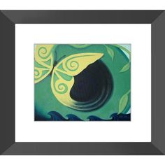 Transcendence - Framed Print of Acrylic Paint Butterfly Fine Art - The Unfolding Butterfly