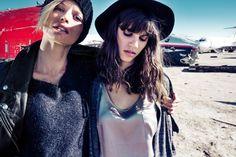 Antonina Petkovic and Flavia Lucini for DRYKORN Fall Winter 2014